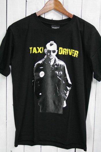 タクシードライバー Taxi Driver Tシャツ ビンテージプリント 映画 ブラック