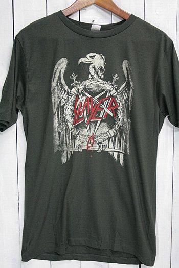 スレイヤー SLAYER Tシャツ ビンテージプリント バンドTシャツ ブラック Criminally Insane