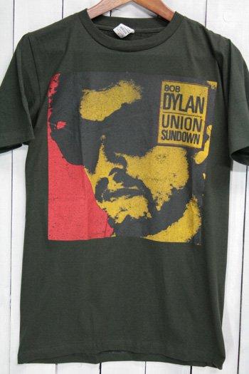 ボブ・ディラン Bob Dylan  Union Sundown / ユニオン・サンダウン Tシャツ ビンテージプリント バンドTシャツ ブラック