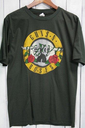 <img class='new_mark_img1' src='https://img.shop-pro.jp/img/new/icons43.gif' style='border:none;display:inline;margin:0px;padding:0px;width:auto;' />ガンズ・アンド・ローゼズ  Guns N' Roses  Tシャツ ビンテージプリント バンドTシャツ ブラック L