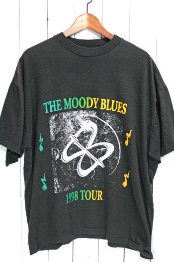 90年代 ムーディー・ブルース The Moody Blues Tシャツ バンドTシャツ ブラック