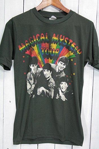 ザ・ビートルズ (The Beatles)  Tシャツ ビンテージプリント バンドTシャツ ブラック M