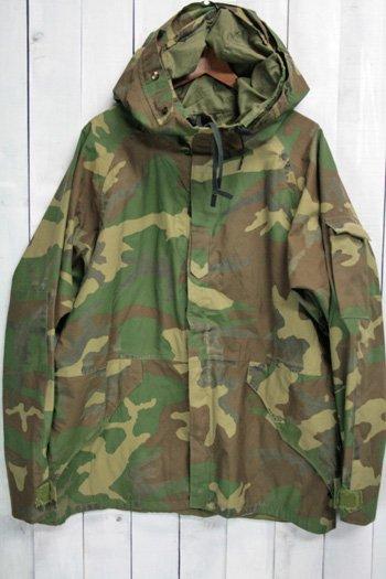 90年代 ECWCS ゴアテックスパーカー 古着 ウッドランドカモ USアーミー 米軍 ミリタリージャケット L