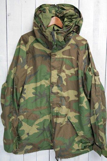 90年代 ECWCS ゴアテックスパーカー 古着 ウッドランドカモ USアーミー 米軍 ミリタリージャケット XL