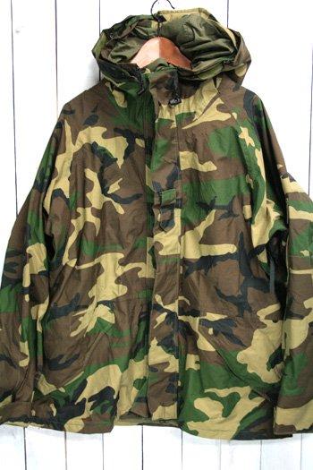 ECWCS ゴアテックスパーカー 古着 ウッドランドカモ USアーミー 米軍 ミリタリージャケット XL