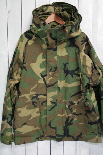 90年代 us army ECWCS ゴアテックスパーカー 古着 ウッドランドカモ USアーミー 米軍 ミリタリージャケット L
