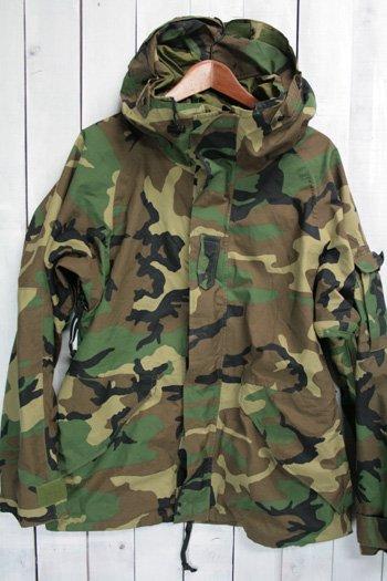 96年 ECWCS ゴアテックスパーカー 古着 ウッドランドカモ USアーミー 米軍 ミリタリージャケット M/R