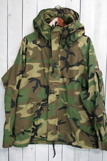 90年代 96年 us army ECWCS ゴアテックスパーカー 古着 ウッドランドカモ USアーミー 米軍 ミリタリージャケット L