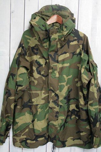 90年代 ECWCS ゴアテックスパーカー 古着 ウッドランドカモ USARMY USアーミー 米軍 ミリタリージャケット XL/L