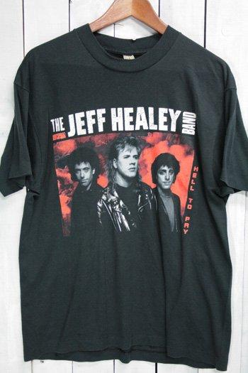 90年代 The JEFF HEALEY BAND/ジェフ・ヒーリー・バンド   Hell To Pay Tシャツ バンドTシャツ ブラック 黒 XL