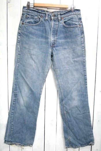 70年代 Levis 517 リーバイズ 517 内股シングル 古着 ビンテージ デニムパンツ ブーツカット