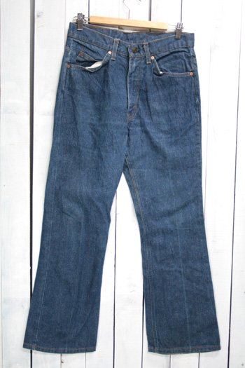 80年代 Levis 517 リーバイズ 517 古着 ビンテージ デニムパンツ ブーツカット オレンジタブ 色濃いめ