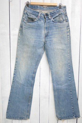80年代 Levis 517 リーバイズ 517 古着 ビンテージ デニムパンツ ブーツカット オレンジタブ 色薄め