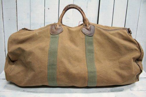 70年代 エルエルビーン LL・BEAN ダッフルバッグ Duffle Bag タロンジッパー ギザタグ