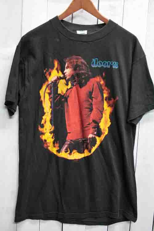 90年代 ドアーズ The Doors ジムモリソン ビンテージ Tシャツ バンドTシャツ ブラック 黒
