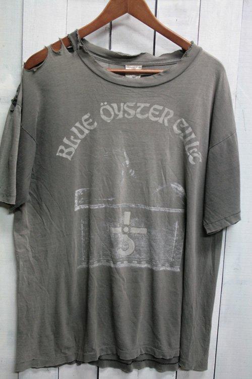 90年代 Blue Oyster Cult ブルーオイスターカルト バンドTシャツ Tシャツ プリントシャツ ヴィンテージ ブラック 黒 ボロ ダメージ 古着