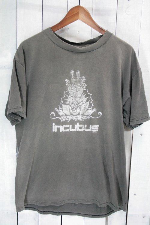 00年代 インキュバス Incubus バンドTシャツ Tシャツ プリントシャツ ヴィンテージ ブラック 黒 ボロ ダメージ 古着