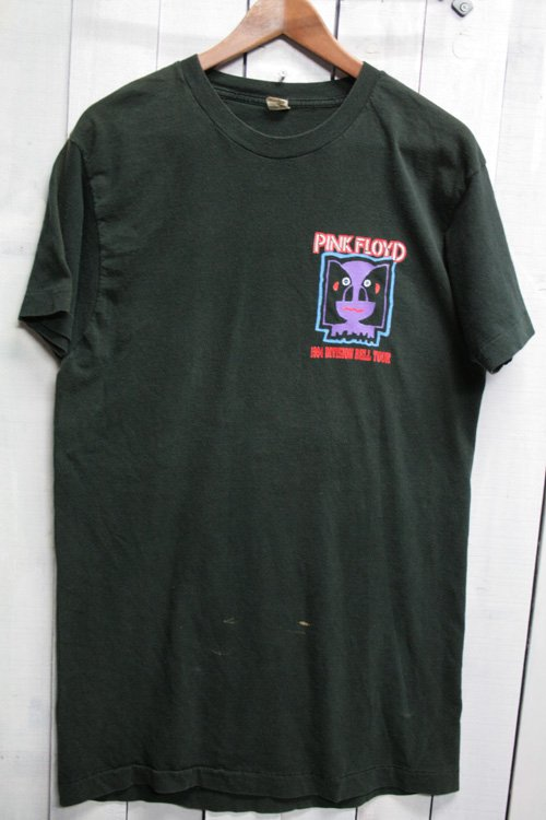 90年代 ピンク・フロイド Pink Floyd ビンテージ Tシャツ バンドTシャツ ブラック 黒 1994 division bell tour ツアーTシャツ