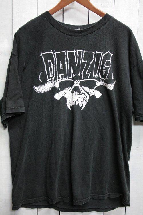 00年代 ダンジグ Danzig バンドTシャツ Tシャツ プリントシャツ ビンテージ ブラック 黒 古着