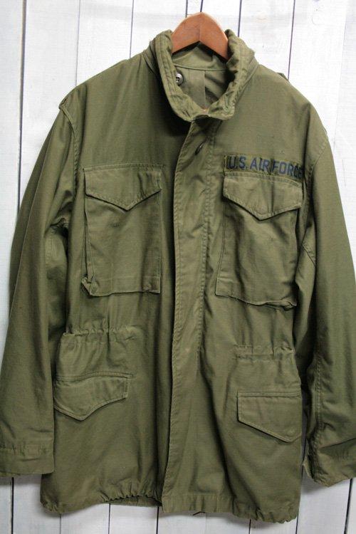 70年代 m65フィールドジャケット 古着 ビンテージ ブラスジッパー 3rd S/L