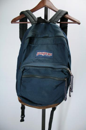 <img class='new_mark_img1' src='https://img.shop-pro.jp/img/new/icons43.gif' style='border:none;display:inline;margin:0px;padding:0px;width:auto;' />JANSPORT(ジャンスポーツ) バックパック ナイロン×レザー MADE IN USA