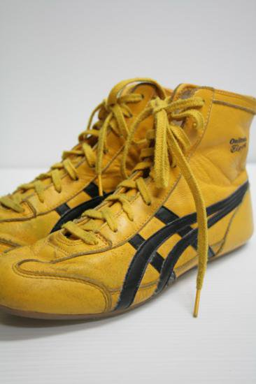 <img class='new_mark_img1' src='https://img.shop-pro.jp/img/new/icons43.gif' style='border:none;display:inline;margin:0px;padding:0px;width:auto;' />Onitsuka Tiger(オニツカタイガー) ハイカットスニーカー 中古