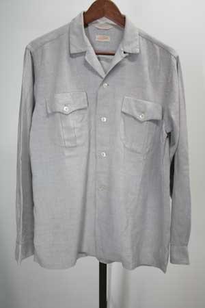 レーヨンシャツ 古着 50-60年代