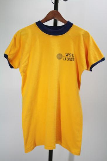 Champion(チャンピオン) ブルーバータグ リンガーTシャツ 70年代
