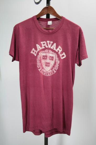 80年代  カレッジTシャツ ハーバード