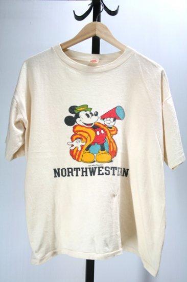 70年代 ミッキーマウスTシャツ 古着