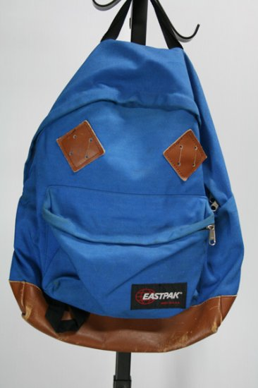 eastpak(イーストパック) バックパック ナイロン×レザー MADE IN USA 中古