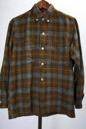 60-70年代 ウールシャツ 古着
