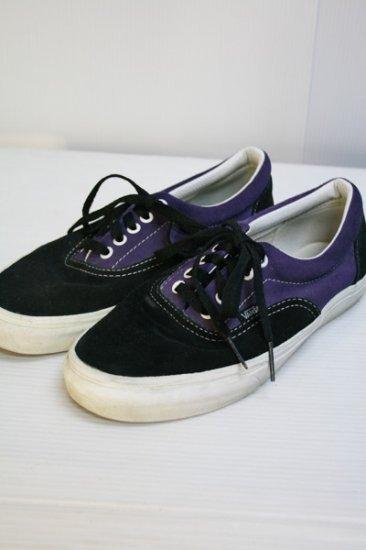 vans【バンズ】 エラ 黒×紫 中古