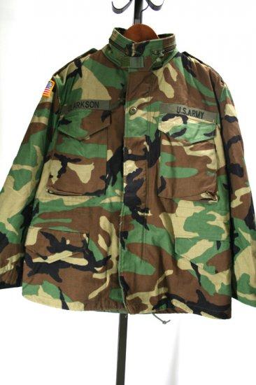 90年代 m65フィールドジャケット 迷彩柄 デッドストック