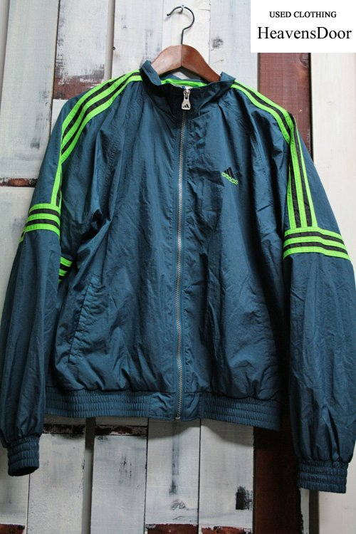 90年代 adidas 【アディダス】 ナイロンジャケットジャケット 古着