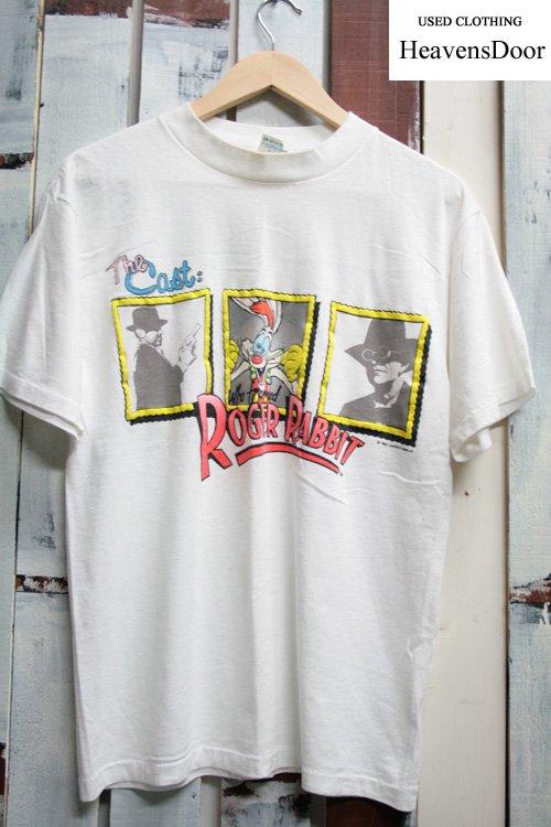 80年代 ロジャーラビットTシャツ【アメコミTシャツ】 古着