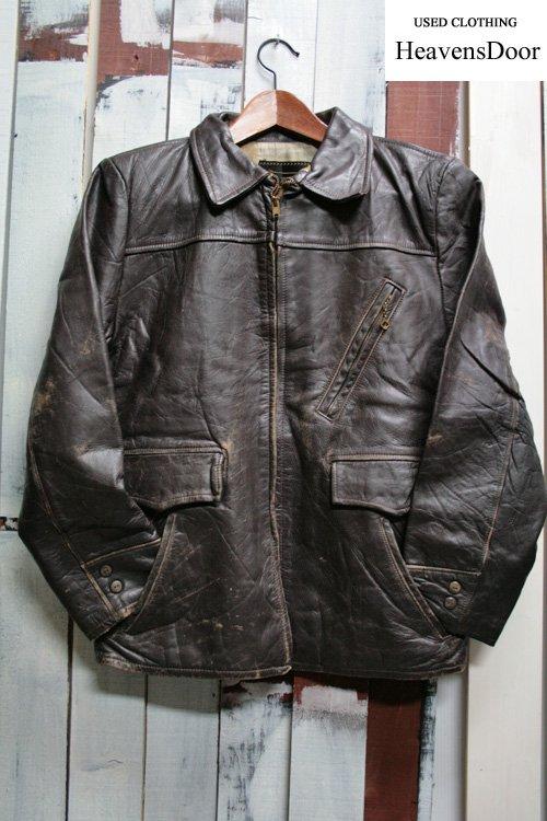 60年代 BRENT【ブレント】 シングルレザージャケット 古着 ビンテージ