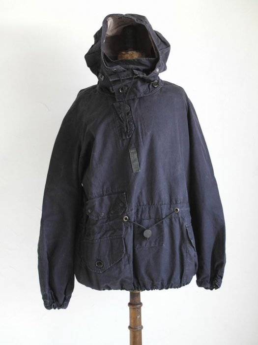 <img class='new_mark_img1' src='//img.shop-pro.jp/img/new/icons8.gif' style='border:none;display:inline;margin:0px;padding:0px;width:auto;' /> Vintage Royal Navy blue ventile cotton Smock Parka