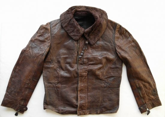WWII LuftWaffe Electrical wired Leather Jacket