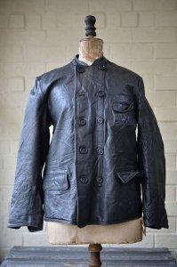 Vintage Swedish Work leather jacket