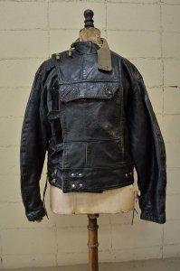 Vintage Sweden army leather jacket (Riders/tank crew men)
