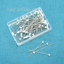 極細(0.4mm)マチ針 約90本入