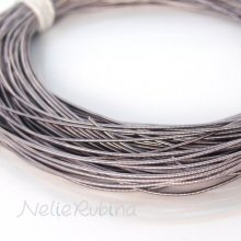 pearl purl パールパール / gimp wire ギンプワイヤー - gray