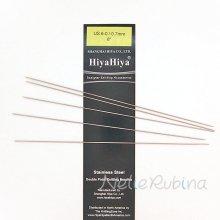 hiyahiya ダブルポイント5本針 0.7mm〜2.0mm × 15cm