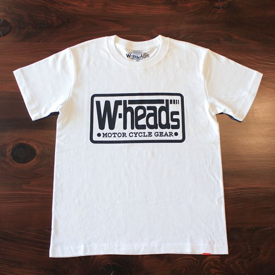 W-HEADS 「MOTOR CYCLE GEAR Tシャツ」 ホワイト
