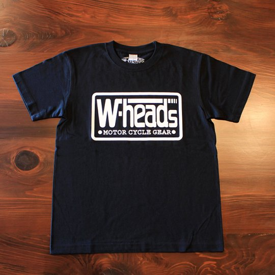 W-HEADS 「MOTOR CYCLE GEAR Tシャツ」 ブラック