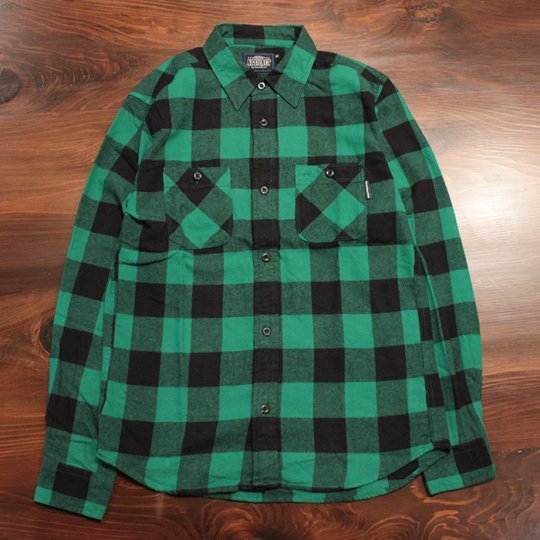 Attract Street Gear 2016A/W��Block check shirt���֥�å������å�����ġ����꡼��