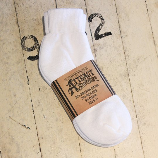 ATTRACT SHORT SOCKS  3PACK 靴下 3足セット