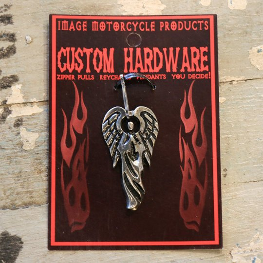 "Image Motorcycle ""ZIPPER PULLS"" ""KEYCHAINS"" Angel"