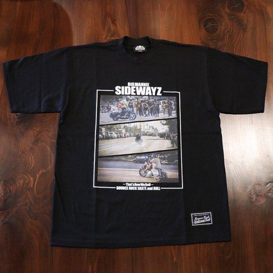 BigMannie Official 【SIDEWAYZ Tシャツ】(ヘビーウェイト)ブラック